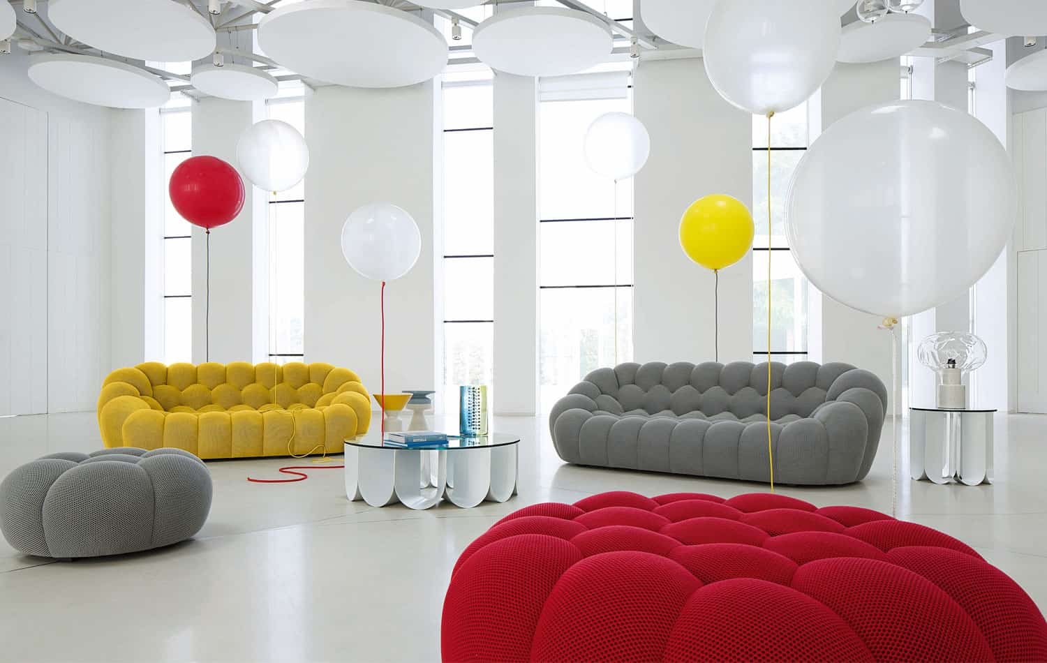 bubble sofa roche bobois cost covers ireland large 3 seat by