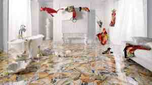 25 Beautiful Tile Flooring Ideas For Living Room, Kitchen