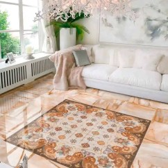 Tiles Design Living Room Bungalow Style Ideas 25 Beautiful Tile Flooring For Kitchen And View In Gallery Ceramic Rug Auris Peronda 1 Jpg