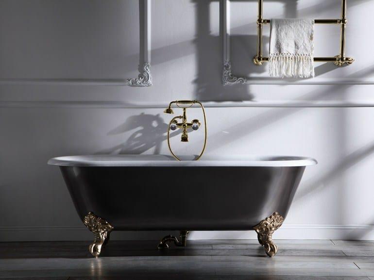Black Bathtubs for Modern Bathroom Ideas with Freestanding