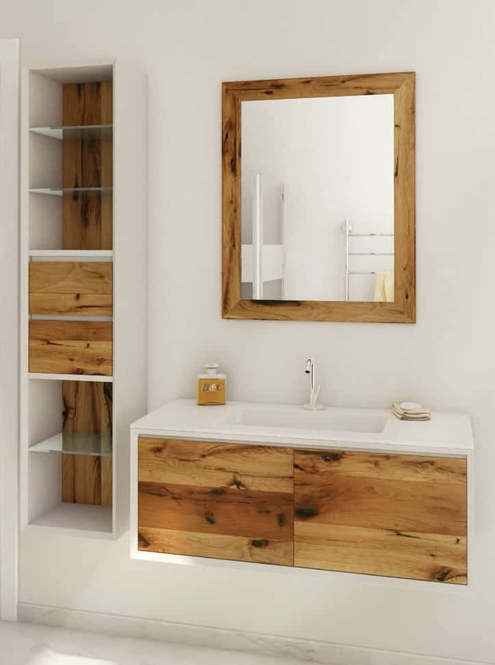 Weathered Wood Look Bathroom Vanities Stunningly Beautiful