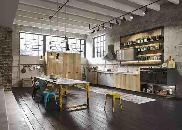 Industrial Loft Kitchen Design Ideas
