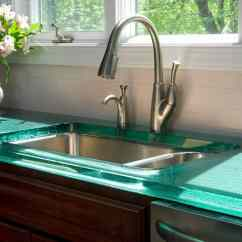 Kitchen Tops Cabinet Stain Modern Countertops From Unusual Materials 30 Ideas View In Gallery