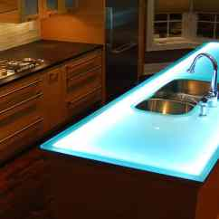 Kitchen Counter Tops Aid Range Hood Modern Countertops From Unusual Materials 30 Ideas View In Gallery Material