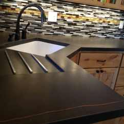 Ceramic Kitchen Top Pendant Lights Over Island Modern Countertops From Unusual Materials 30 Ideas View In Gallery