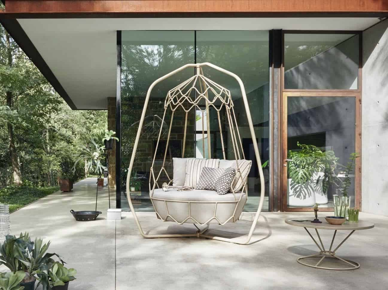 rope chair swing crate barrel chairs garden furniture from roberti rattan