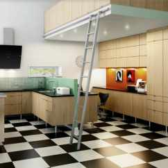 Tile Flooring Kitchen Soap Dispenser Parts Simple Remodel Chess Floors Can Change The Game Checkerboard Floor In Muted Modern Home