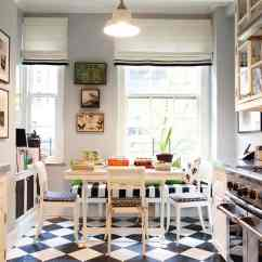 Tile Flooring Kitchen Retro Light Fixtures Simple Remodel Chess Floors Can Change The Game View In Gallery