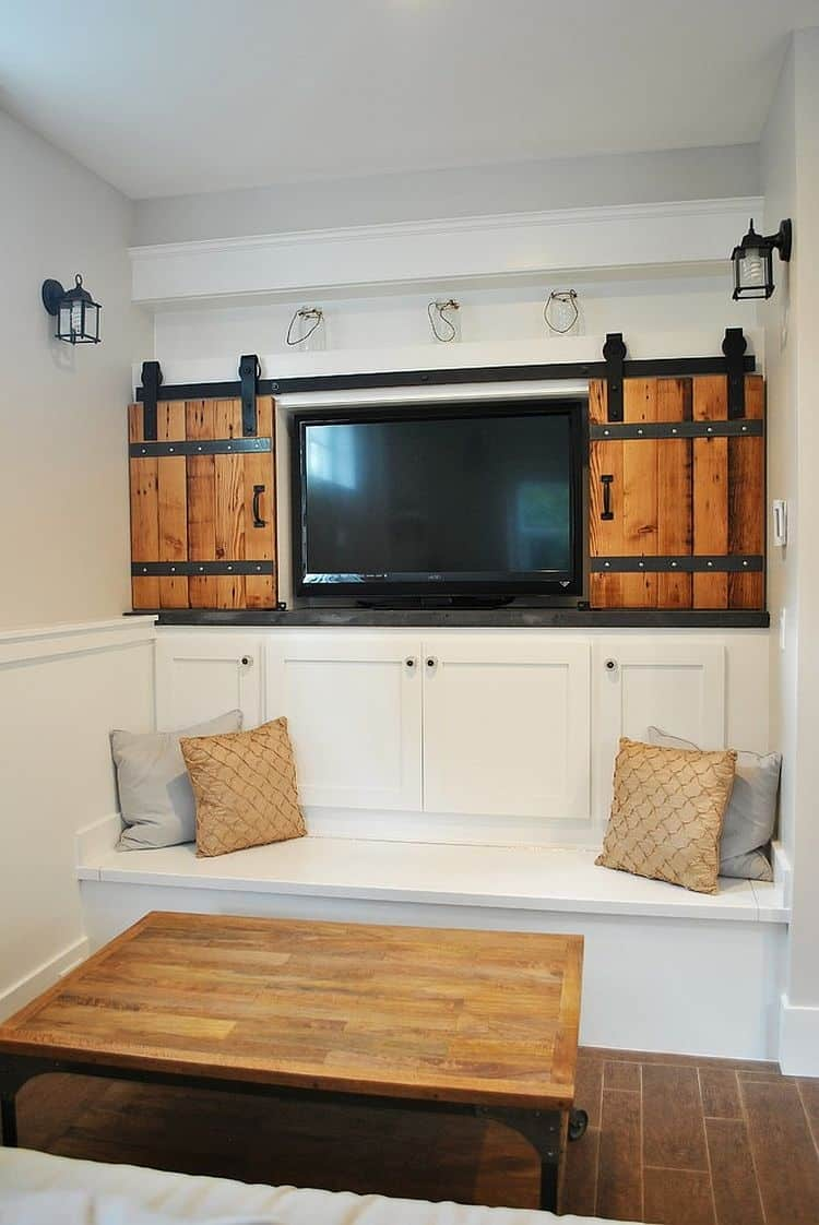 remodel works bath & kitchen long island design architectural accents: sliding barn doors for the home