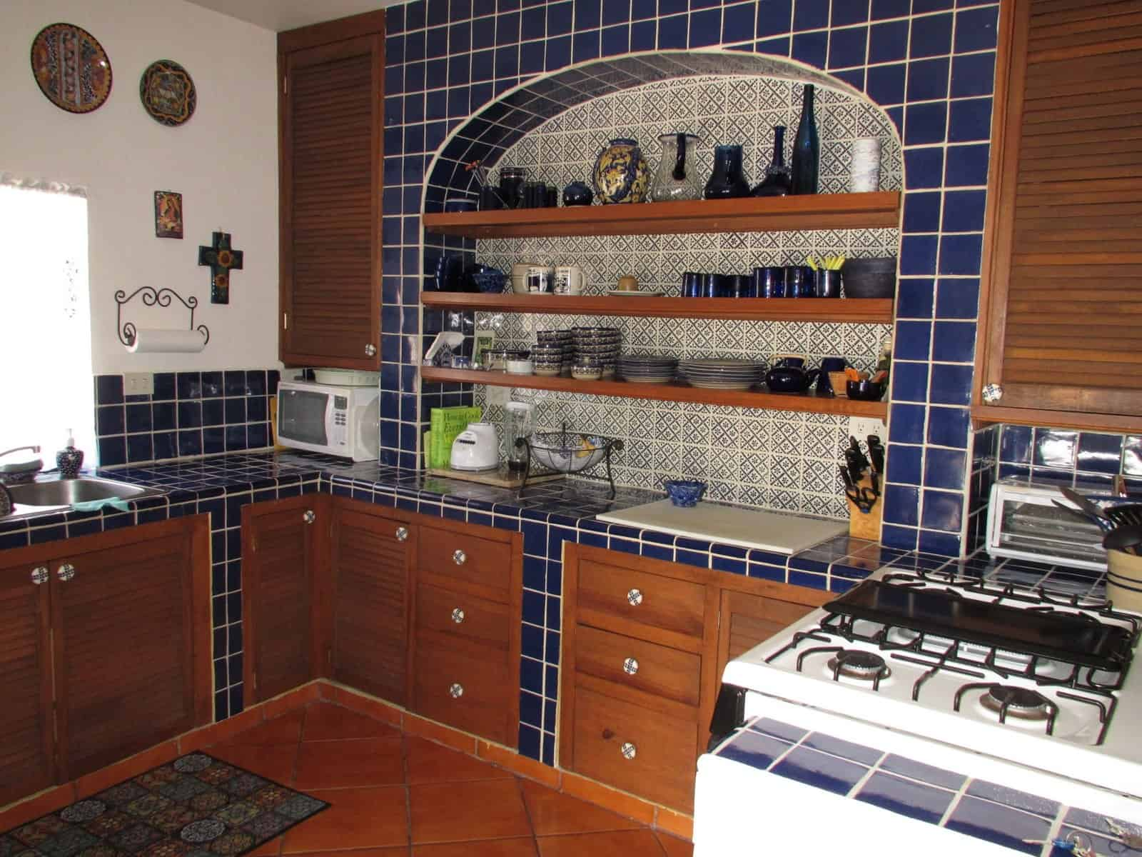 mexican backsplash tiles kitchen nook table set 44 top talavera tile design ideas