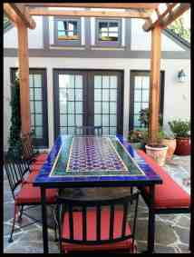 Mexican Patio Tile Tables Mosaic
