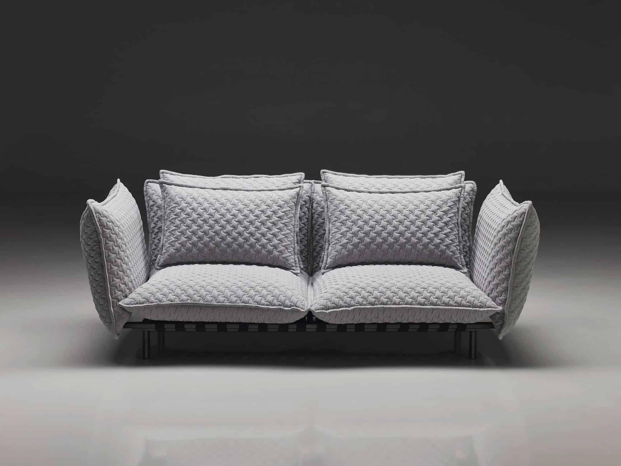 steel frame sofa mid century modern sectional metal designs view in gallery sofas trendy 9 jpg