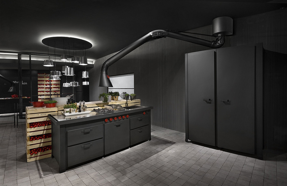 extractor fan kitchen christmas decorating ideas for the futuristic hood mammut mina by minacciolo view in gallery 2 thumb 630x408 17796