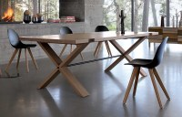 Large Wooden Dining Table Oxymore from Roche Bobois