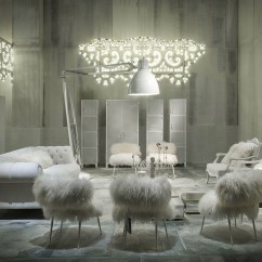 Fuzzy White Chair Fully Reclining Beach Paola Navone Designs Fairy Tale Like Interiors To Present Latest Furniture By Baxter