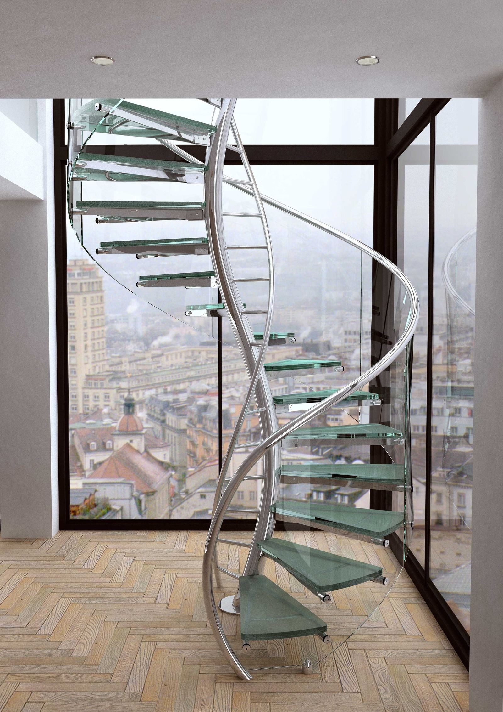 Unique And Creative Staircase Designs For Modern Homes | Home Interior Stairs Design | Wall | L Shaped | Elegant | American | Creative