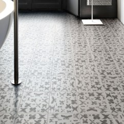 Floor Tile Designs For Small Living Rooms Room Floating Shelves 25 Beautiful Flooring Ideas Kitchen And View In Gallery Hand Painted Ceramic Tiles Papillon Ruben Toledo