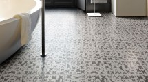 Painted Ceramic Tile Floors