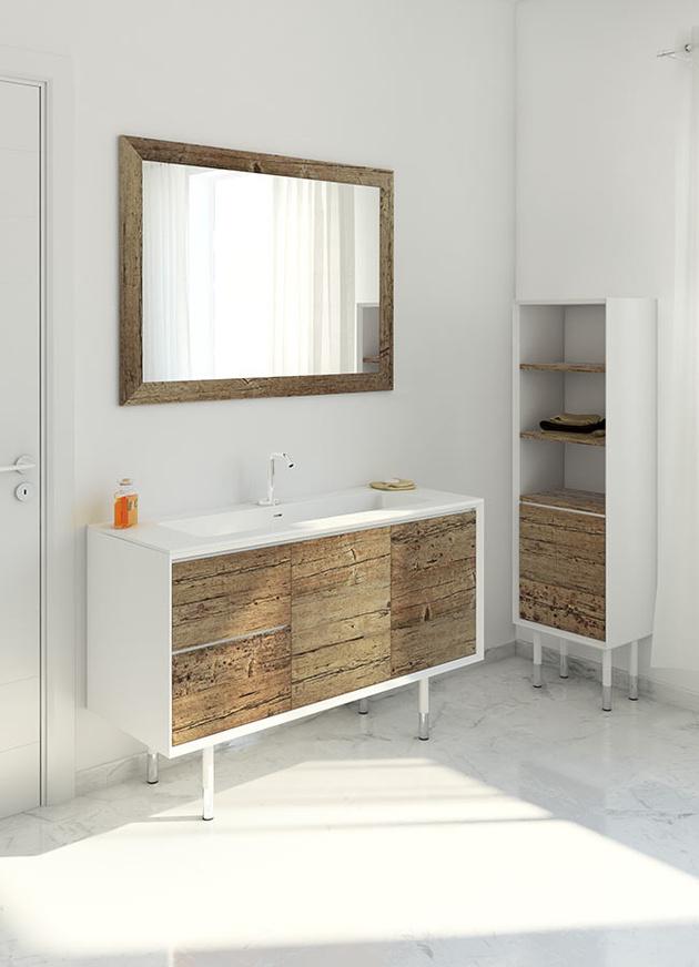 Weathered Wood Look Bathroom Vanities Stunningly Beautiful