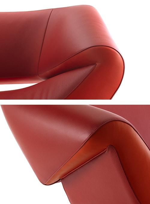 Asymmetrical Sofa by Leolux  Arabella