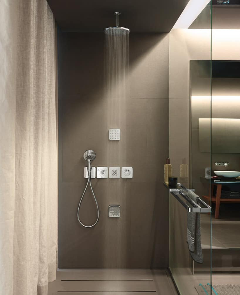 AXOR Citterio E Bathroom Fixtures Wow with New Slender Figure