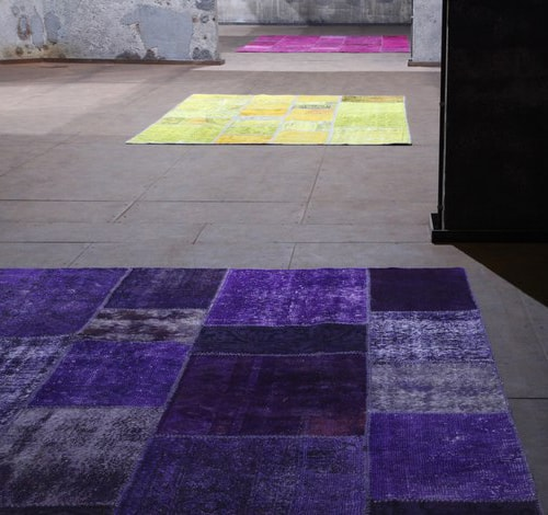 Bright Multi Colored Rugs by Miinu