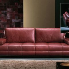 Leather Sofa Set 3 1 Cushion For Back Pain Transitional Rolf Benz 6500 - The Timeless Design In ...
