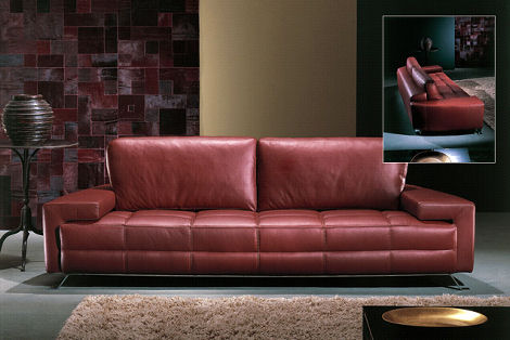 contemporary leather sofa bed slipcovers for and loveseat from casa nova the carmel