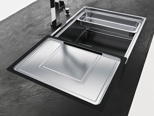 franke kitchen sinks small outdoor island centinox sink by new for 2011 1