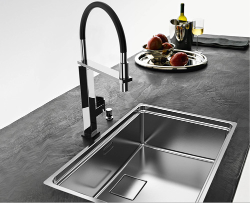 franke kitchen faucet cool light fixtures centinox sink by - new for 2011