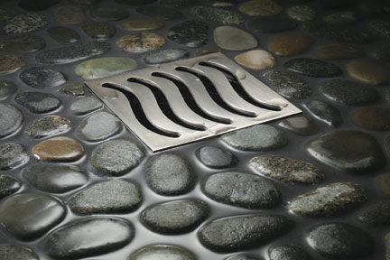 Decorative Square Shower Drains  four new drain covers by