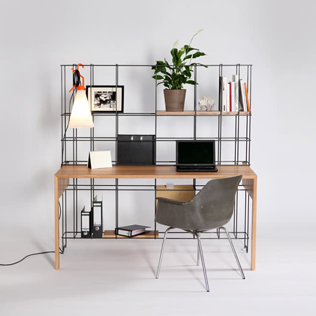 Desk Shelves Combo by Gompf and Kehrer