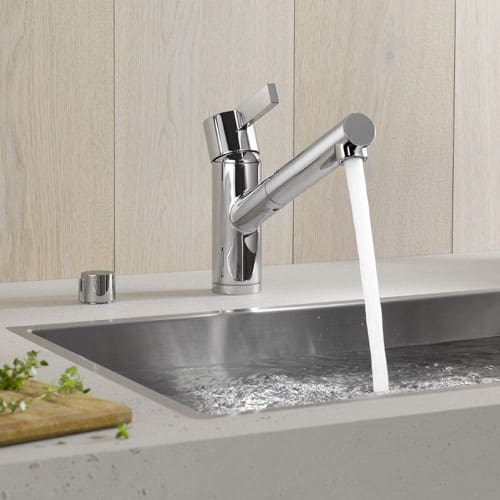 dornbracht faucet kitchen contractor eno new stylish w extensible spray single lever