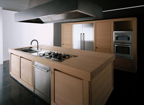 Solid Wood Kitchen from Effeti  Wood 100 kitchen