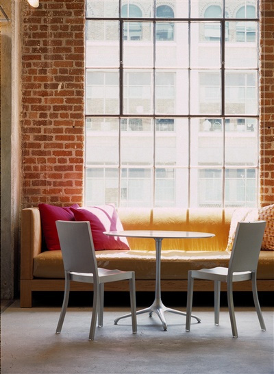 Emeco Recycled Aluminum Chairs  Hudson is designed by