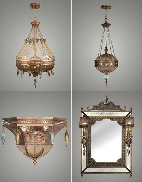byzance fine lighting from fine art lamps