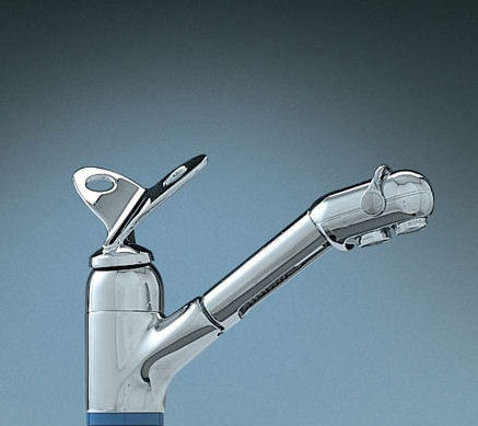 franke kitchen faucet clean cabinets new the papillon armatur with pull out