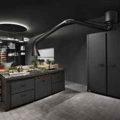 Extractor Fan Kitchen Breakfast Bar Futuristic Hood Mammut For Mina By