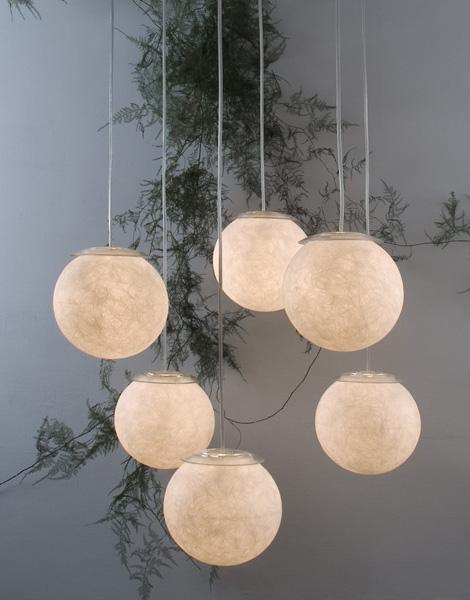Globe Pendant Light  giant pendant light Moon by Ines
