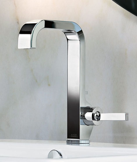 chrome kitchen faucet farm tables new bathroom faucets by hansgrohe - additions ...