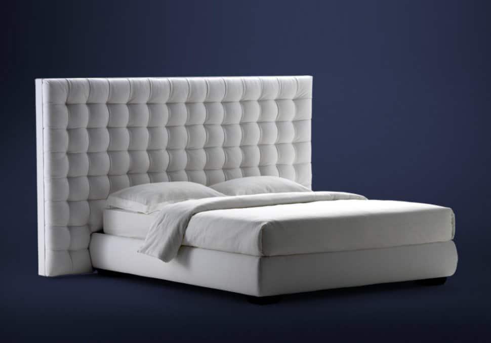 High Headboard Storage Bed Sanya By Flou