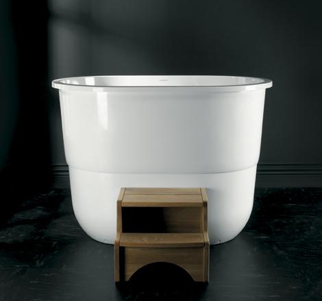 Japanese Sit Bath Tub  deep free standing soaking tub Sorrento by Victoria  Albert