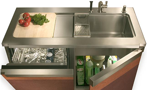 kitchen work station brushed nickel lighting julien aquacentre workstation is your dream view in gallery