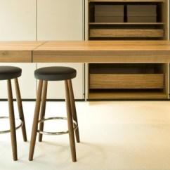 Kitchen Work Tables White Backsplash Ideas Bench Table B2 Long Walnut By Balthaup 3