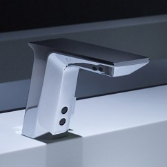 Commercial Style Kitchen Faucet Waffle Weave Towels Infrared Sensor From Kohler - New Insight ...