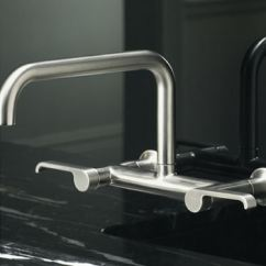 Articulating Kitchen Faucet Island Countertops Kohler Torq Bridge - The New Sink