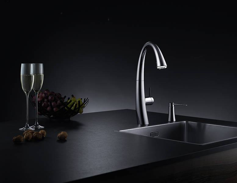 kwc kitchen faucet easy design software free download zoe a beautiful with light