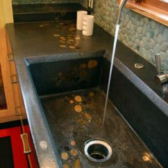 Concrete Kitchen Sink Wall From Mark