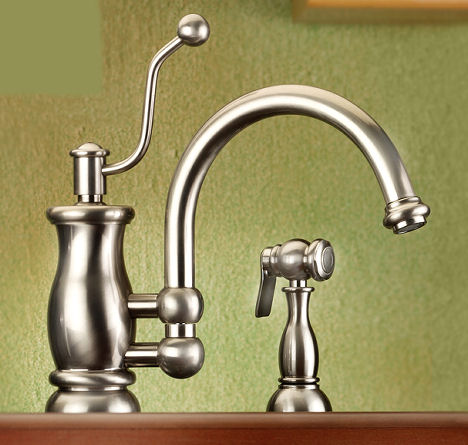 vintage style kitchen faucets moen caldwell faucet from mico the seashore line spray