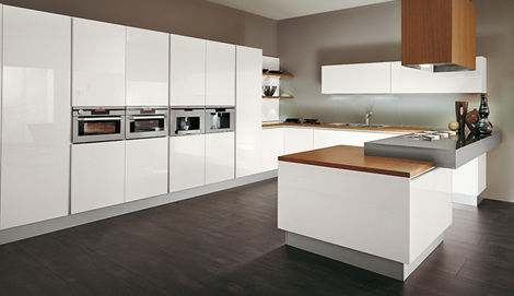Modular Kitchen from MK Cucine  independent modules to